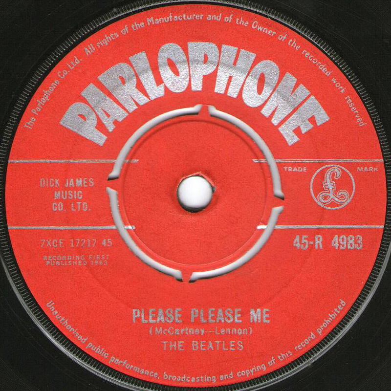 "The Beatles -- ""Please Please Me / Ask Me Why"""