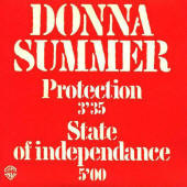 "Donna Summer -- ""Protection / State Of Independence"""