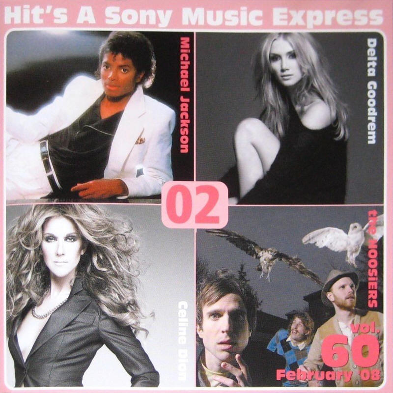 Various artists -- Hit's A Sony Music Express Vol. 60 February '08