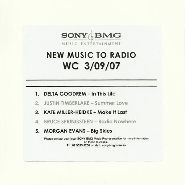 Various artists -- New Music To Radio - WC 3/09/07