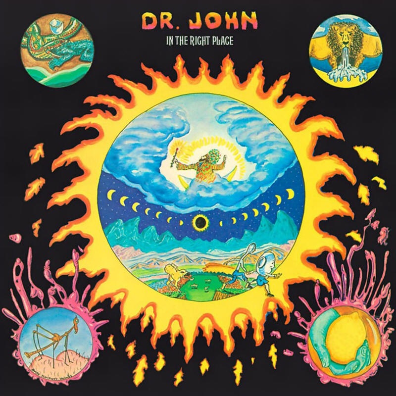 Dr. John -- In The Right Place