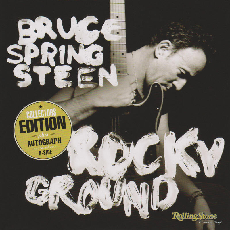 Bruce Springsteen -- Rocky Ground (Germany single)