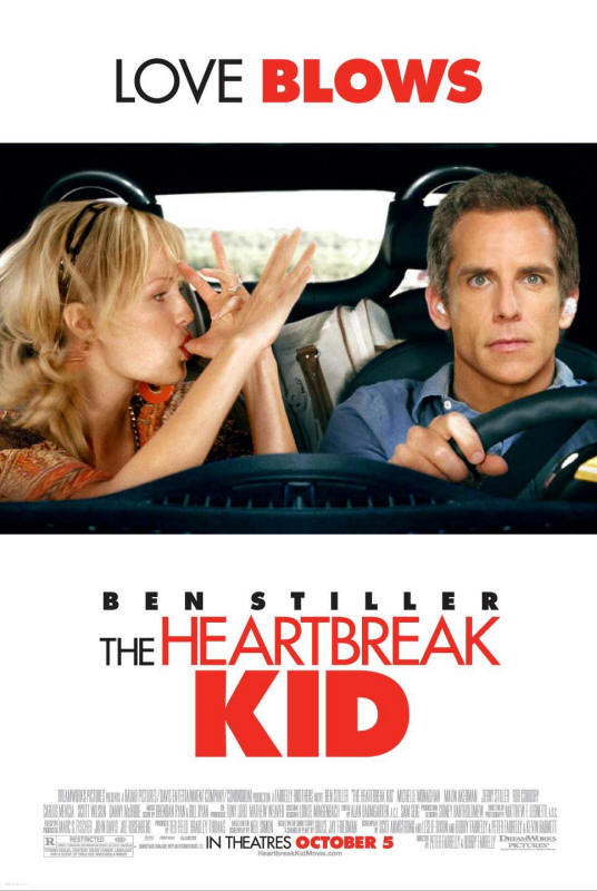 "Promotional poster for the film ""The Heartbreak Kid"""