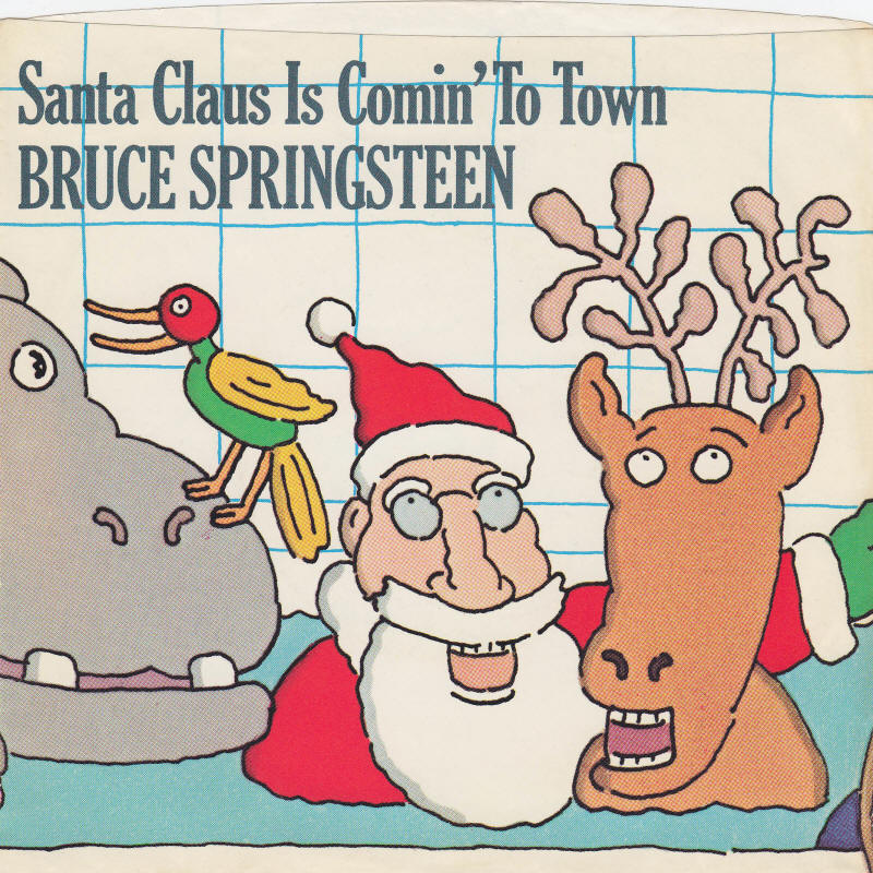 Bruce Springsteen -- Santa Claus Is Comin' To Town