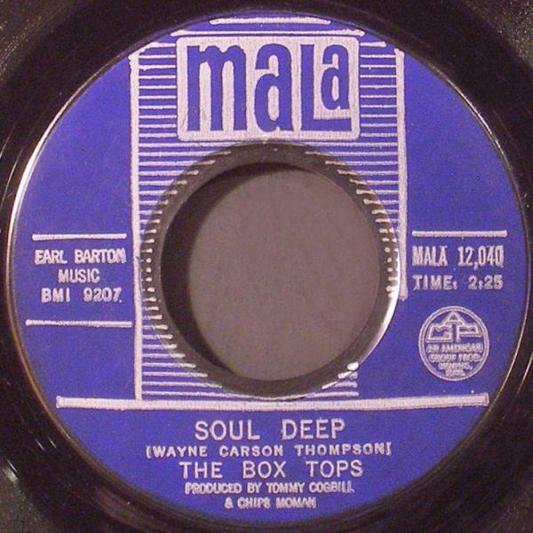 "The Box Tops -- ""Soul Deep / The Happy Song"""