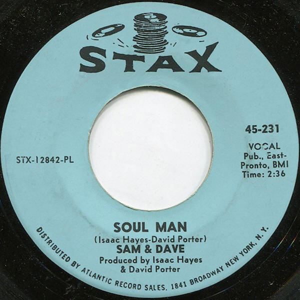 "Sam & Dave -- ""Soul Man / May I Baby"""