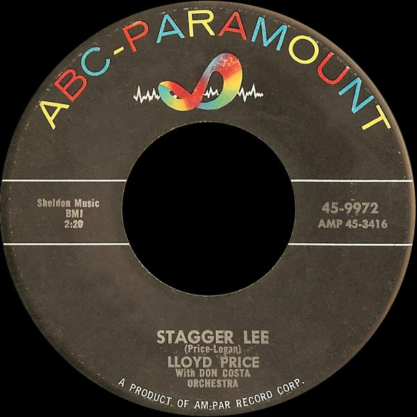"Lloyd Price -- ""Stagger Lee / You Need Love"""