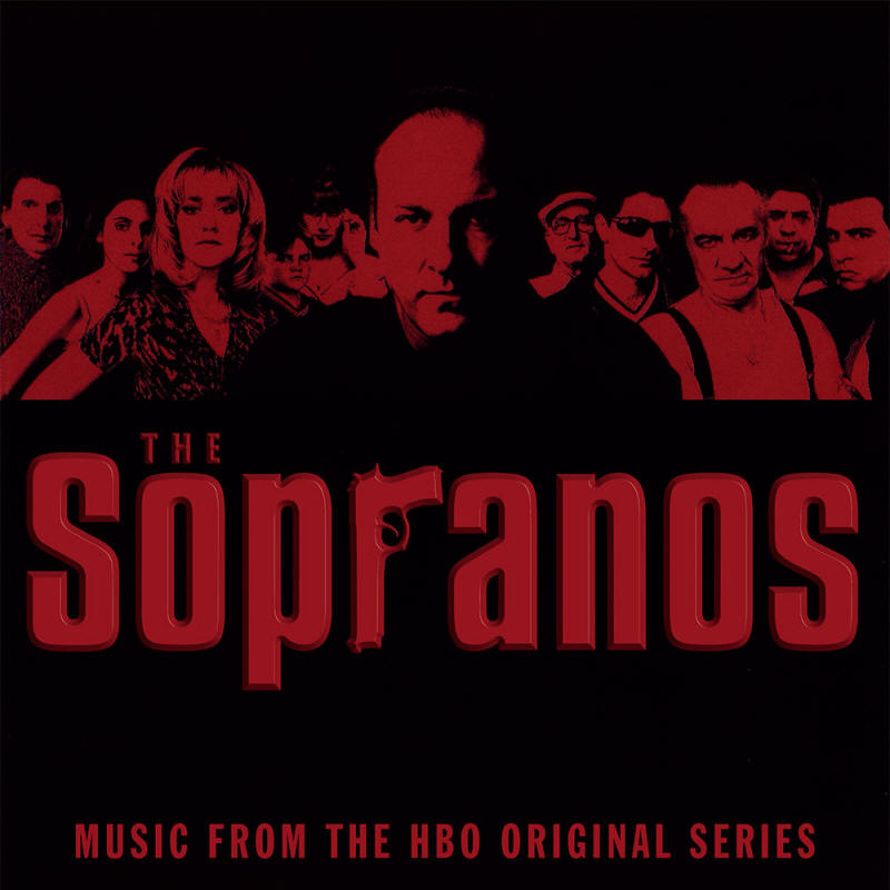 Various artists -- The Sopranos - Music From The HBO Original Series