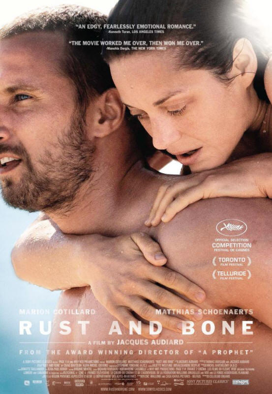 "Promotional poster for the film ""Rust And Bone"""