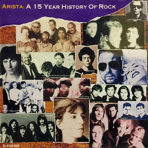 Various artists -- Arista: A 15 Year History Of Rock