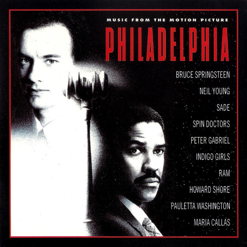 Various artists -- Philadelphia - Music From The Motion Picture