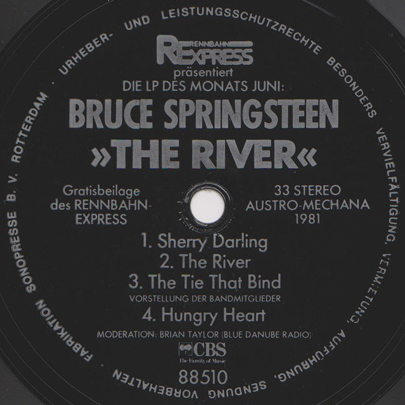 Bruce Springsteen -- The River