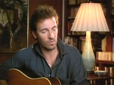 "Bruce Springsteen performing his part of THIS LAND IS YOUR LAND (from the ""A Vision Shared"" documentary)"
