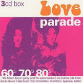 Various artists -- Love Parade: 60's 70's 80's