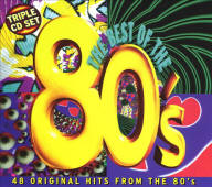 Various artists -- The Best Of The 80's: 48 Original Hits Of The 80's