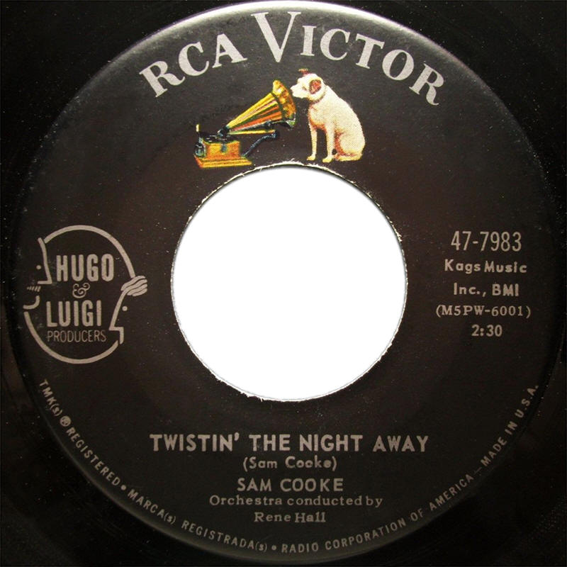 "Sam Cooke -- ""Twistin' The Night Away / One More Time"""