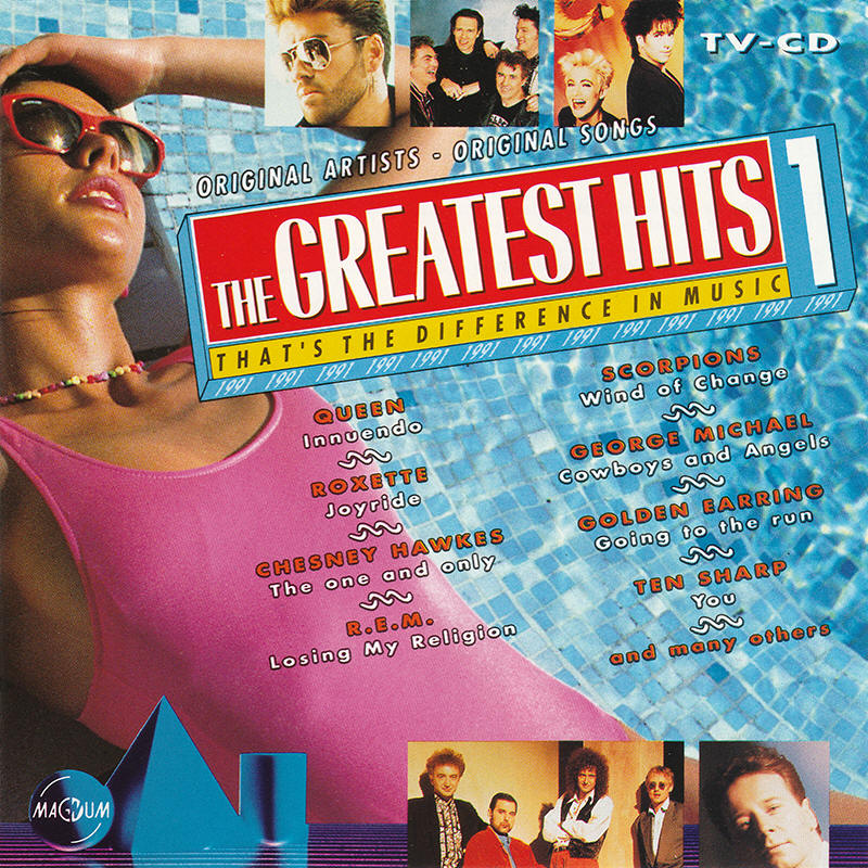 Various artists -- The Greatest Hits 1 - 1991 - 2