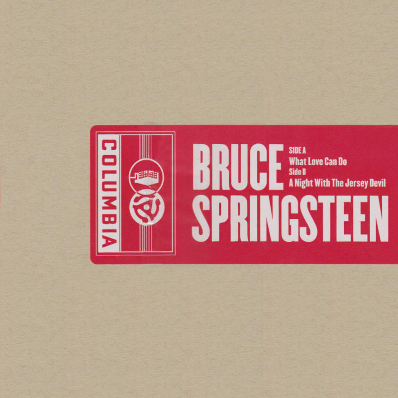 "Bruce Springsteen -- ""What Love Can Do / A Night With The Jersey Devil"""
