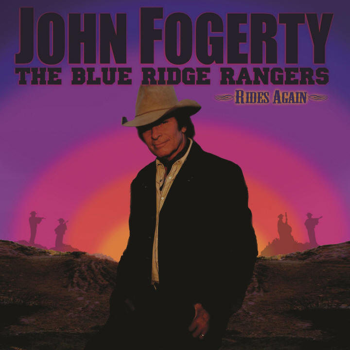 John Fogerty -- The Blue Ridge Rangers Rides Again (album cover art)