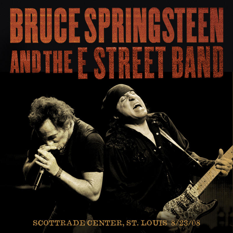 Bruce Springsteen & The E Street Band -- Scottrade Center, St. Louis, MO 8/23/2008