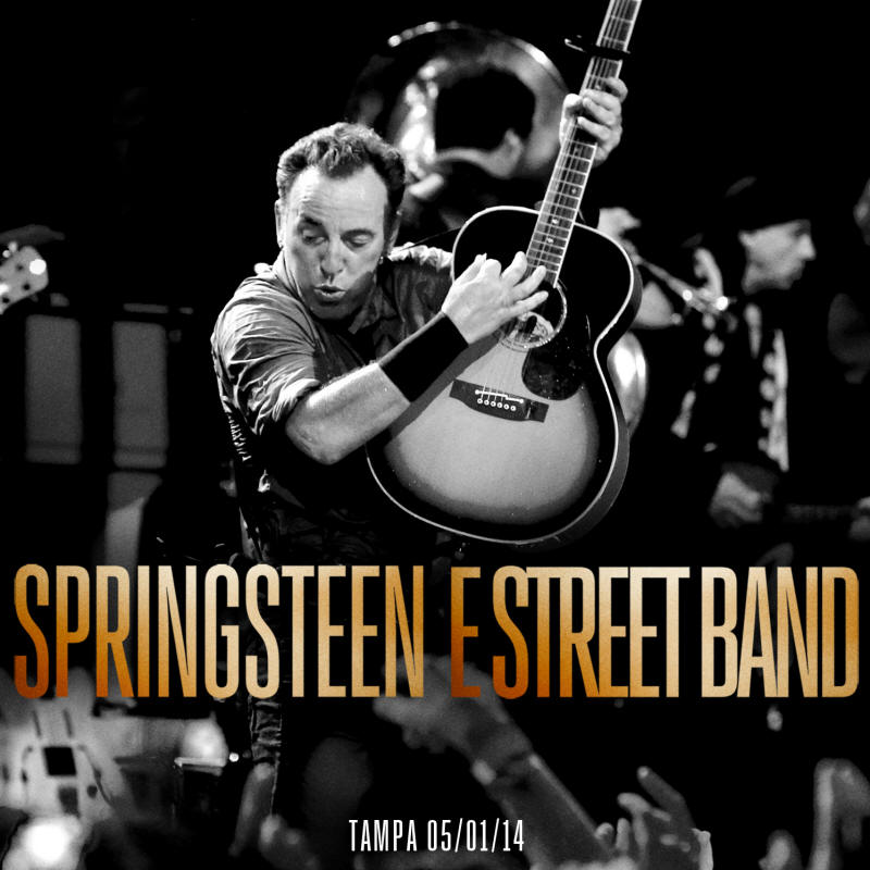 Bruce Springsteen -- Tampa 05/01/14