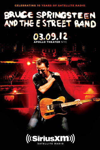 Promotional poster for the 09 Mar 2012 show at Apollo Theater, New York City, NY