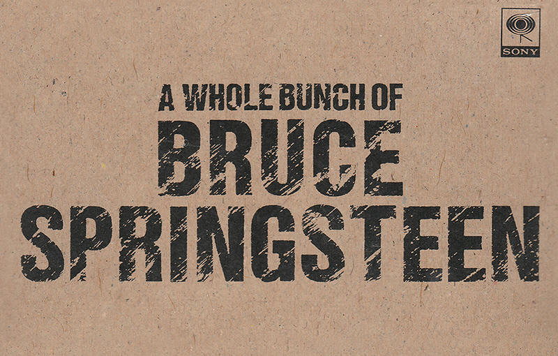 Bruce Springsteen -- A Whole Bunch Of Bruce Springsteen