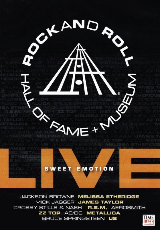 Various artists -- Rock And Roll Hall Of Fame + Museum Live: Sweet Emotion