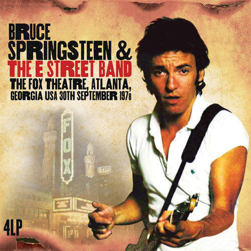 Bruce Springsteen & The E Street Band -- The Fox Theatre, Atlanta, Georgia USA 30th September 1978